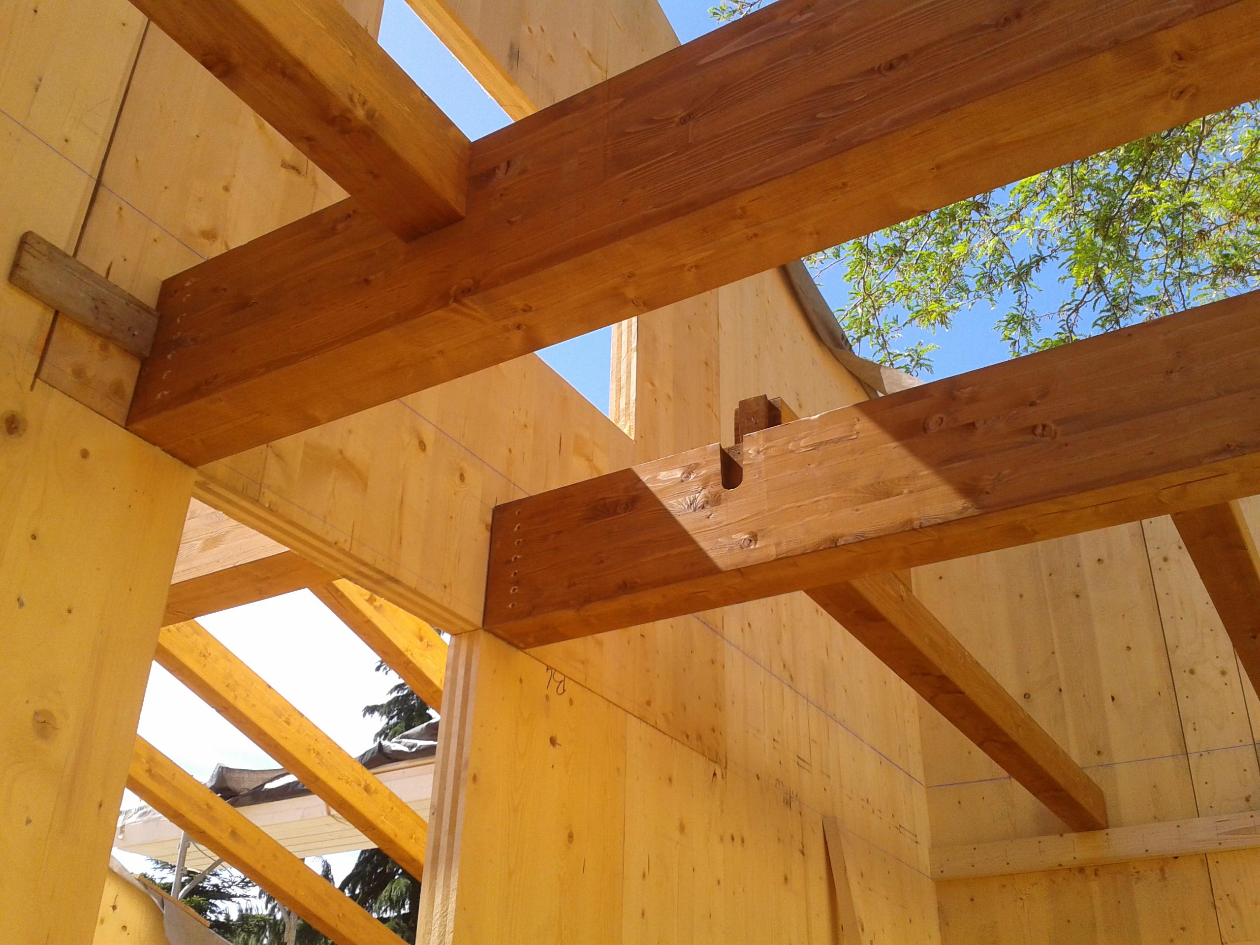 Nuova costruzione in legno